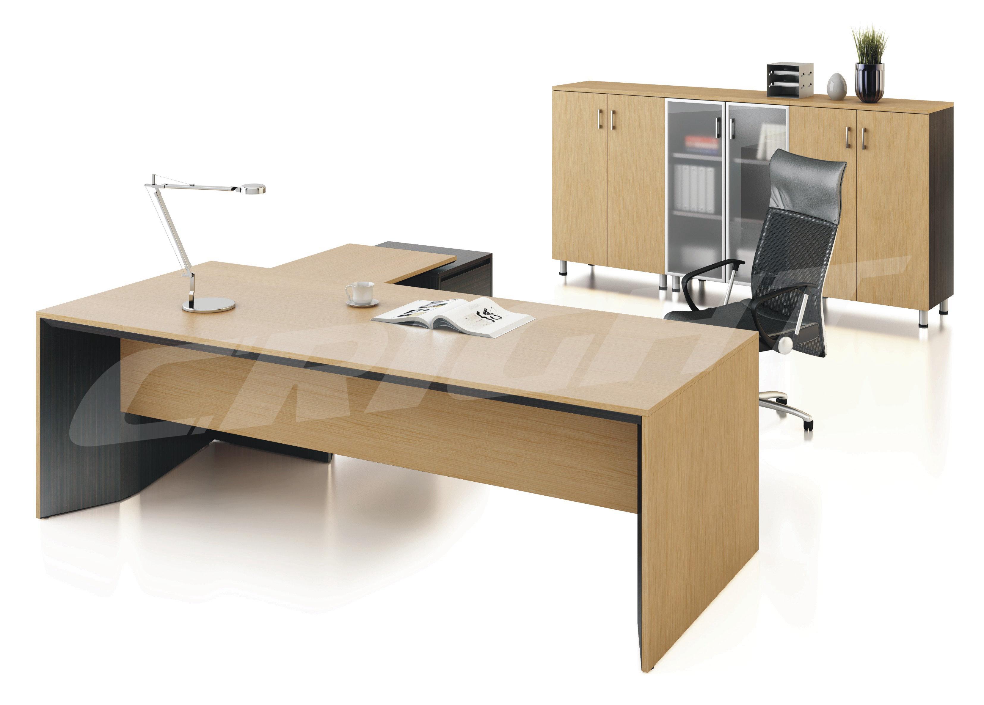 柯睿达实木办公桌|大班台|老板桌-广州柯睿达办公